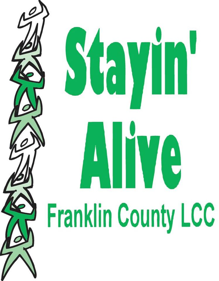 Stayin Alive Franklin County Logo