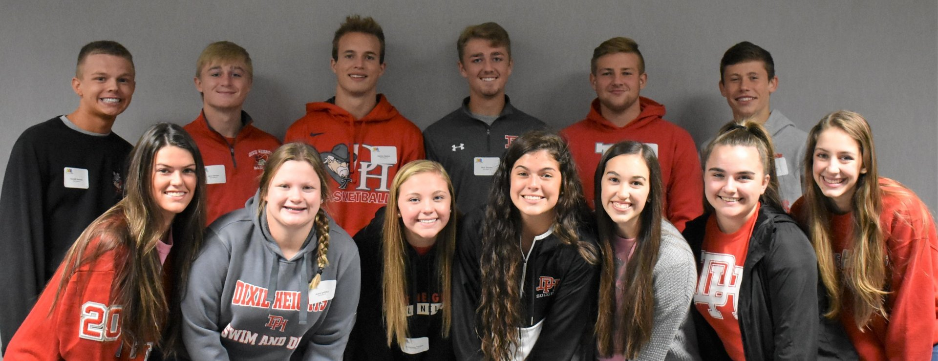 Dixie High Schools students at Red Ribbon Week - Youth Summit 2019